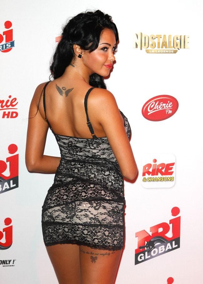 Nabilla le 12 septembre 2012 à Paris
