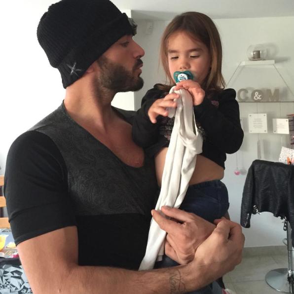 Thomas et sa nièce le 25 octobre 2015
