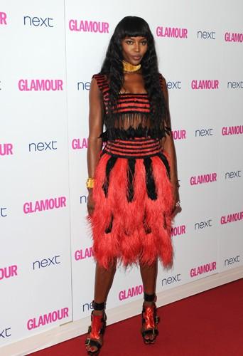 Naomi Campbell à Londres le 3 juin 2014