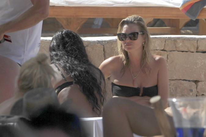 Kate Moss à Ibiza le 28 juin 2014