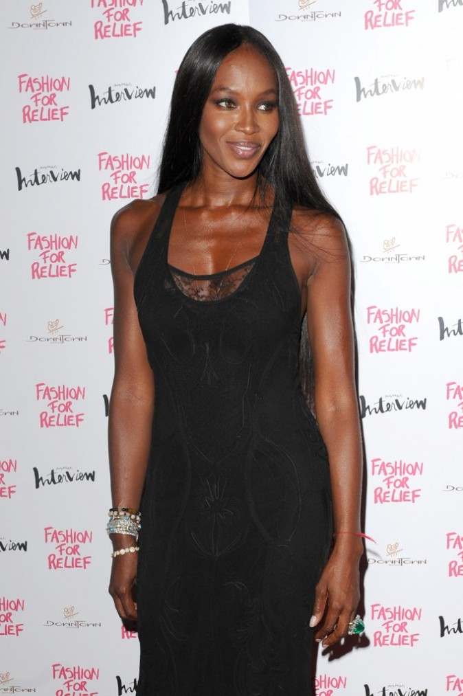 Naomi Campbell lors de la soirée Olympic Dinner Party à Londres, le 9 août 2012.