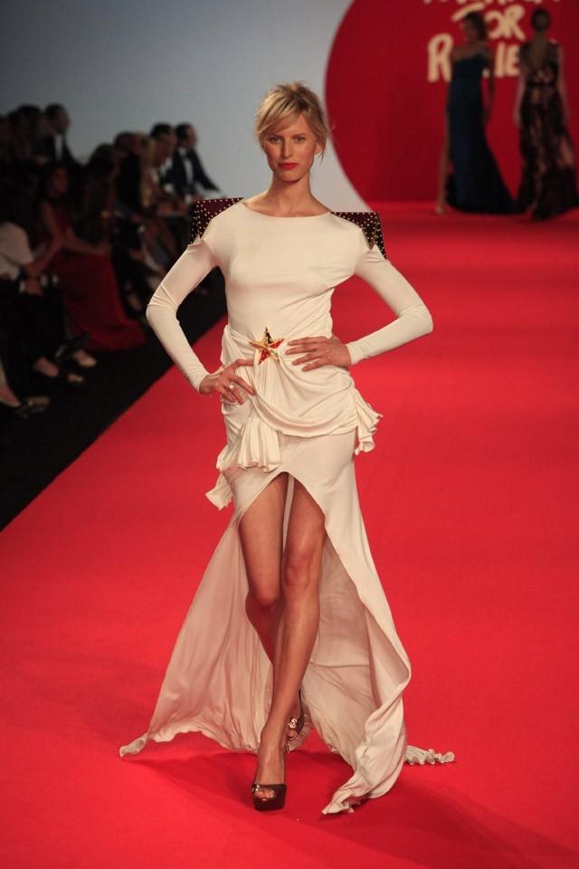 Karolina Kurkova, encore plus belle que sur le tapis rouge cannois...