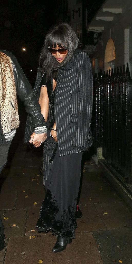 Photos : Naomi Campbell montre accidentellement son téton !