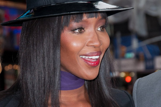 Naomi Campbell à New-York le 5 mars 2014