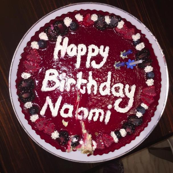 Naomi Campbell : sexy et bien entourée pour fêter ses 45 ans !
