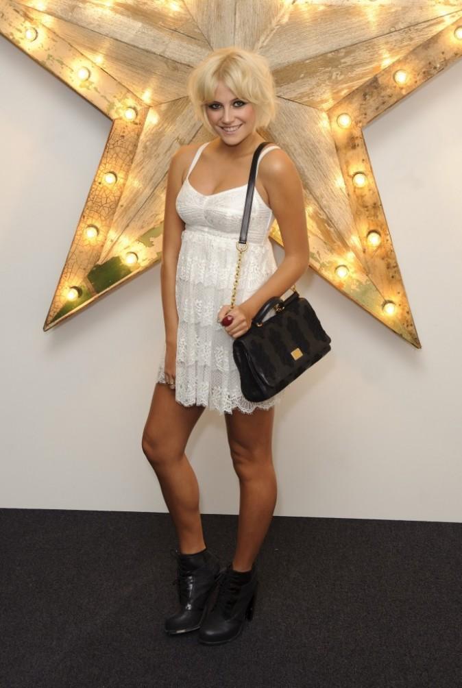 Pixie Lott lors de la soirée NET-A-PORTER and D&G Party à Londres, le 14 juillet 2011.
