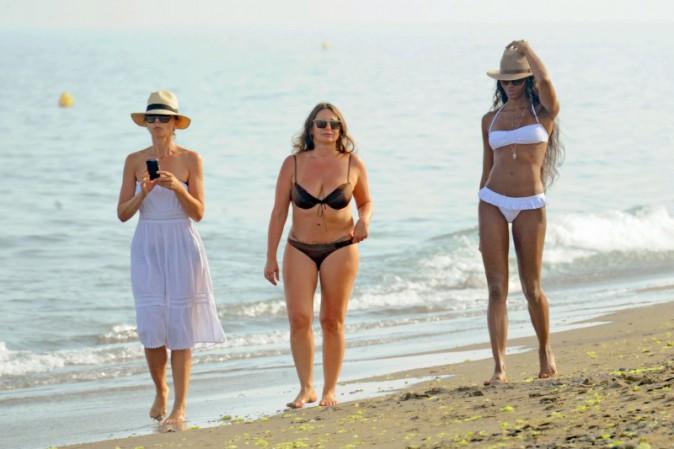 Naomi Campbell en vacances à Marbella, le 4 août 2013.