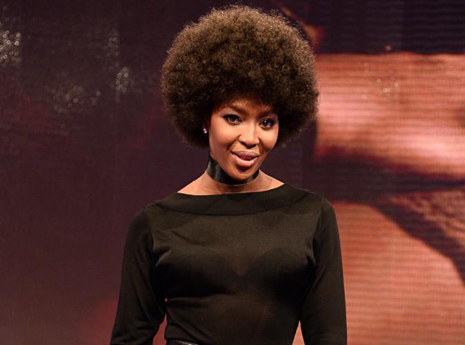 Naomi Campbell : une nouvelle coupe afro qui décoiffe !