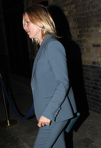 Kate Moss à Londres le 3 septembre 2014