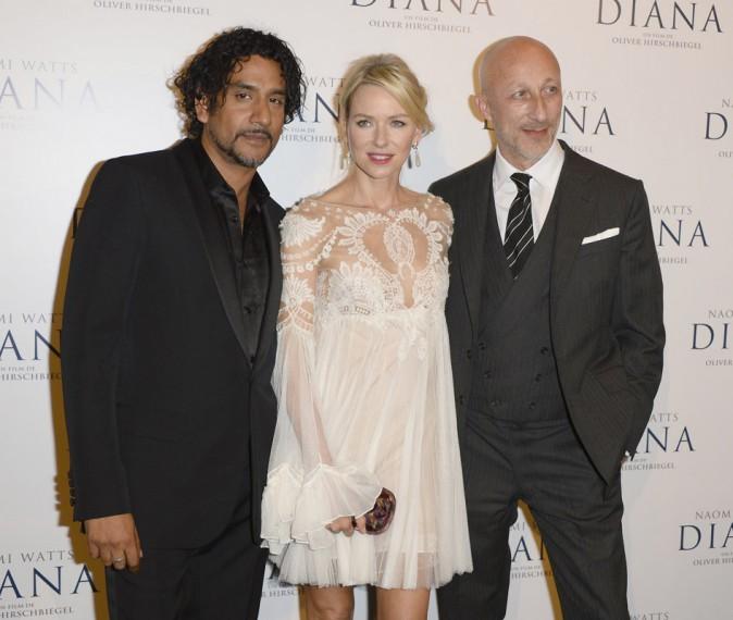 Naomi Watts à Paris pour la promotion du film Diana