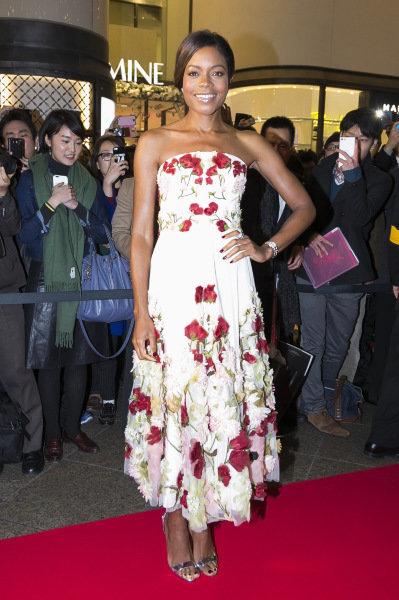 Photos : Naomie Harris en promotion pour le nouveau James Bond à Tokyo