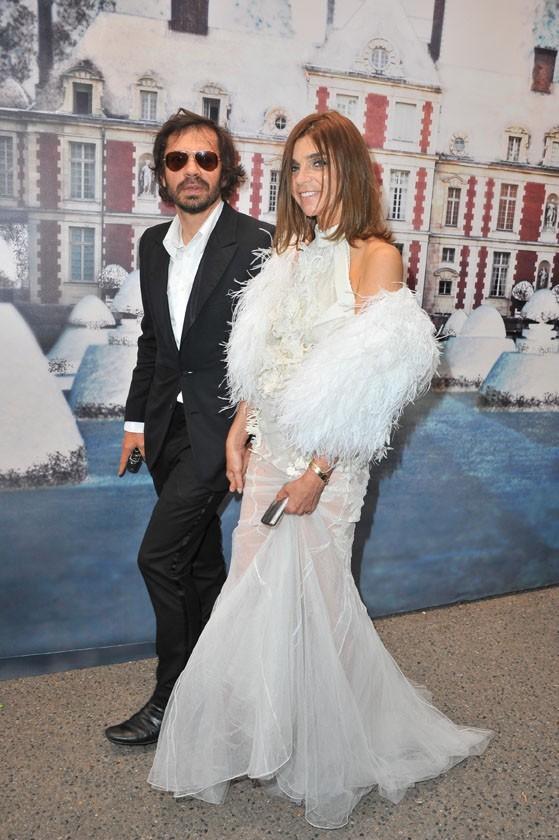 Carine Roitfeld lors de la soirée White Fairy Tale Love Ball à Paris, le 6 juillet 2011.