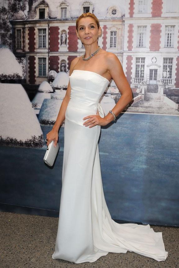Clotilde Courau lors de la soirée White Fairy Tale Love Ball à Paris, le 6 juillet 2011.