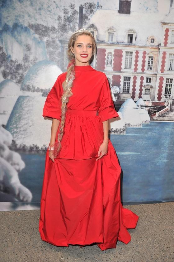 Natalia Vodianova lors de la soirée White Fairy Tale Love Ball à Paris, le 6 juillet 2011.
