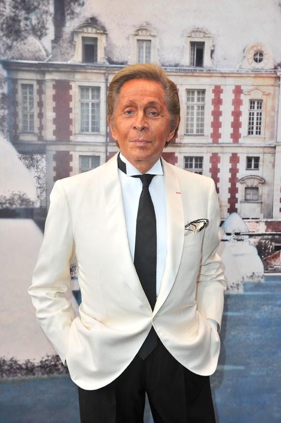 Valentino lors de la soirée White Fairy Tale Love Ball à Paris, le 6 juillet 2011.