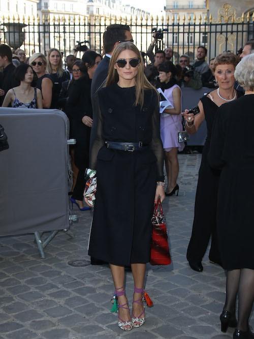 Olivia Palermo au défilé Christian Dior, le vendredi 26 septembre 2014 à Paris