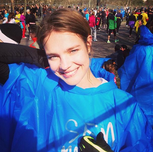 Photos : Natalia Vodianova : la belle a participé au semi-marathon de Paris !