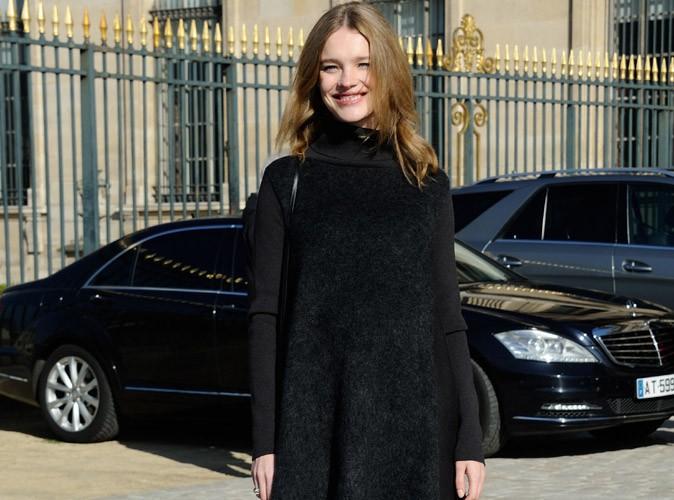 Natalia Vodianova : une future maman radieuse et amoureuse chez Louis Vuitton !