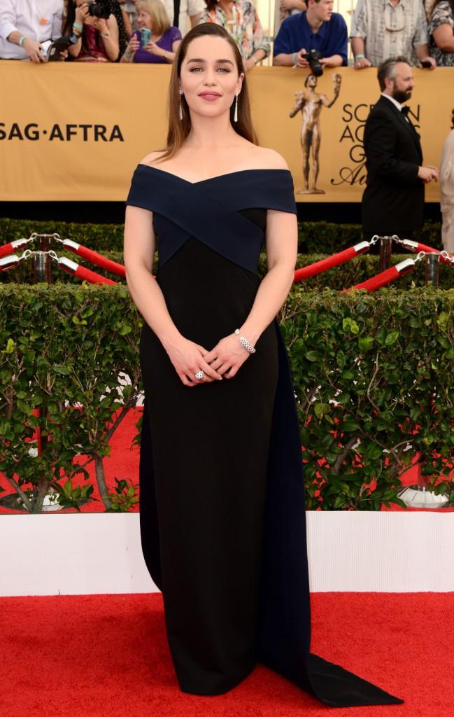 Emilia Clarke le 25 janvier 2015