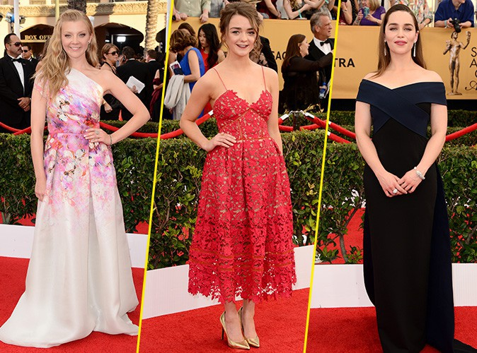 Photos : Natalie Dormer, Maisie Williams, Emilia Clarke… Quand les beautés de Game of Thrones s'emparent du redcarpet !