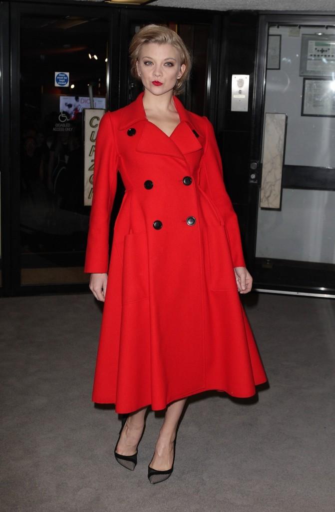Natalie Dormer le 16 mars 2015