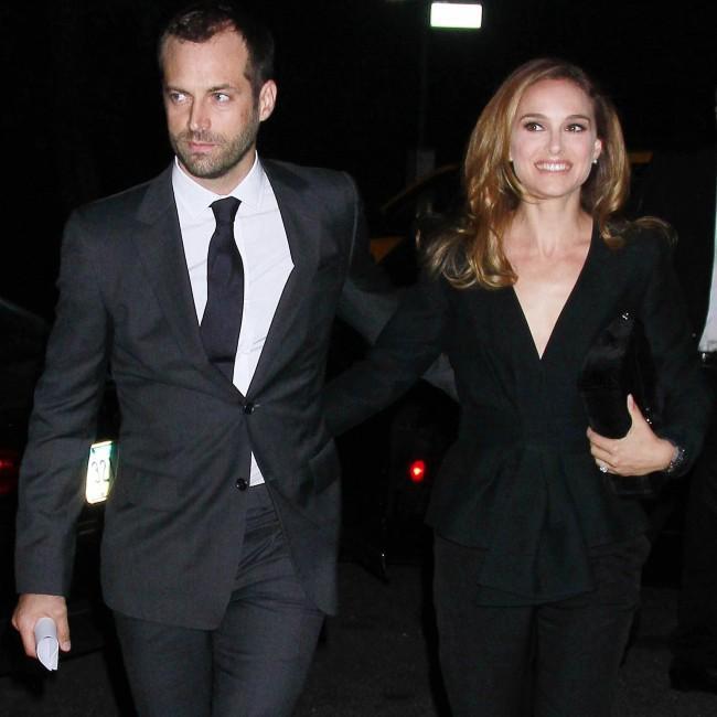 Benjamin Millepied et Natalie Portman à New York, le 9 septembre 2013.
