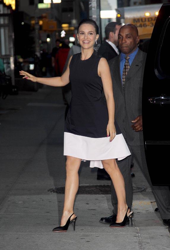 """Natalie Portman à New-York pour la promotion de """"Thor : Le monde des ténèbres"""" le 6 novembre 2013"""