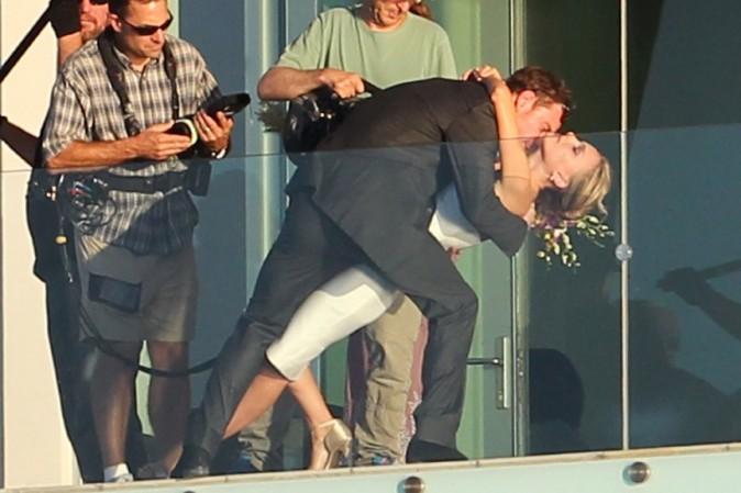 Natalie Portman sur le tournage du nouveau film de Terrence Malik à Austin le 19 octobre 2012