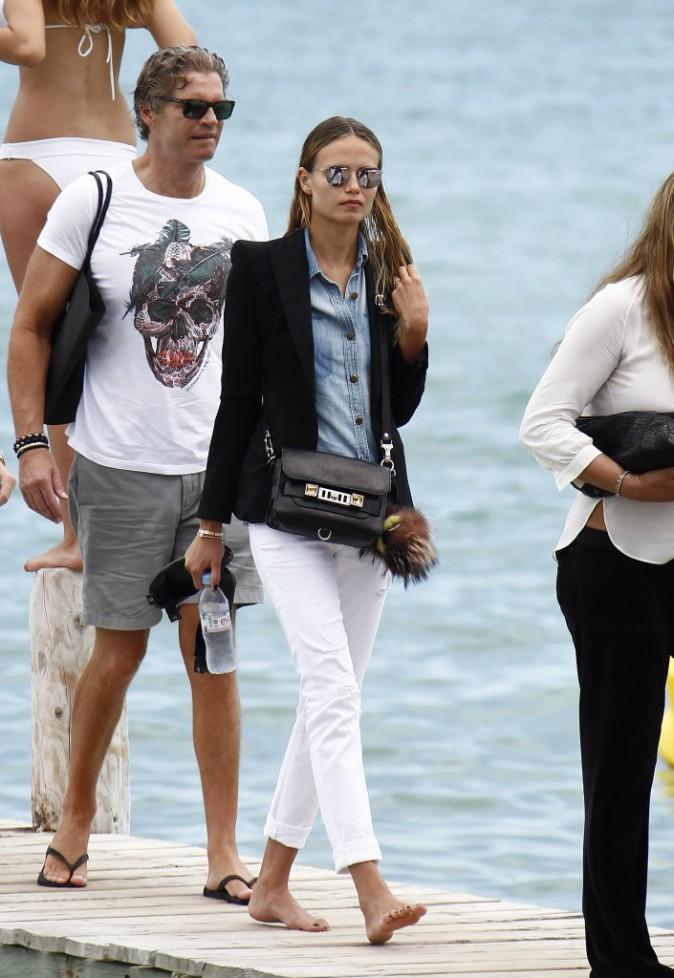 Natasha Poly à St Tropez