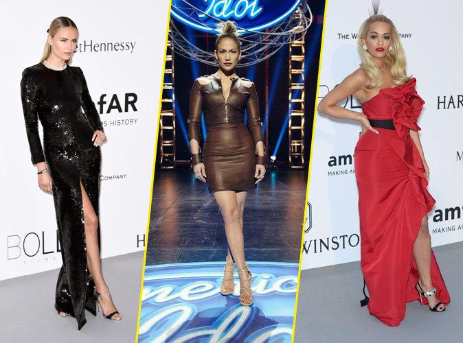 Natasha Poly, Jennifer Lopez, Rita Ora... Toutes fans de Giuseppe Zanotti !