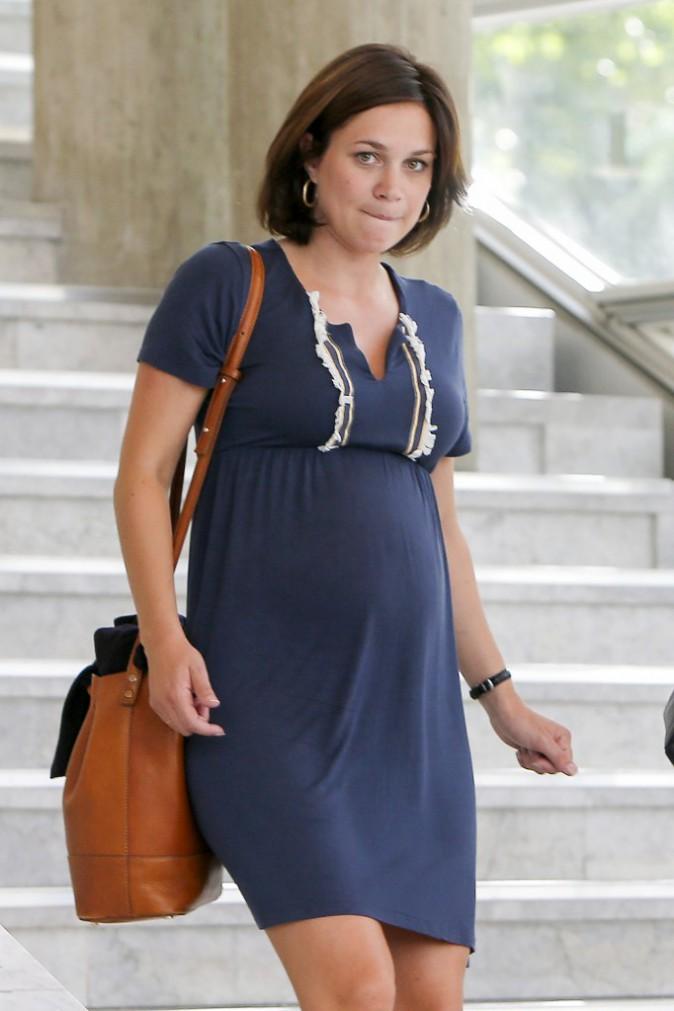 Photos : Nathalie Péchalat affiche son joli baby bump !