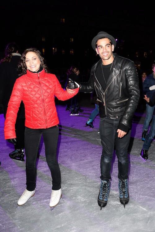 Photos : Nathalie Péchalat : retour sur les patins pour ses retrouvailles avec Christophe Licata !