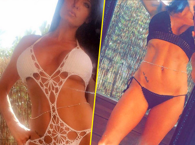 Photos : Nathalie (Secret Story 8) : Ses bikinis sexy en crochet affolent la toile !
