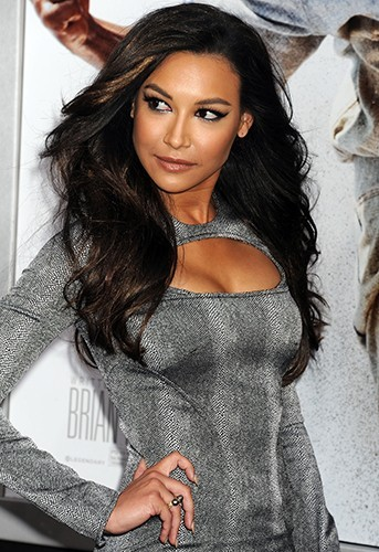 Naya Rivera à Hollywood le 9 avril 2013
