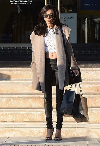 Naya Rivera à Los Angeles le 22 novembre 2013
