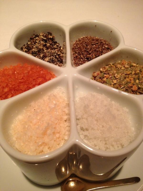 Le sel qui accompagne les plats