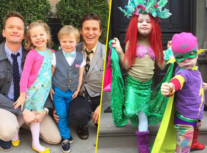 Neil Patrick Harris : ses enfants toujours au top pour Halloween !