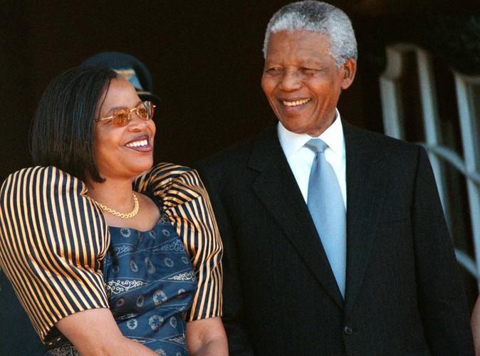 Nelson mandela et Graça Machel