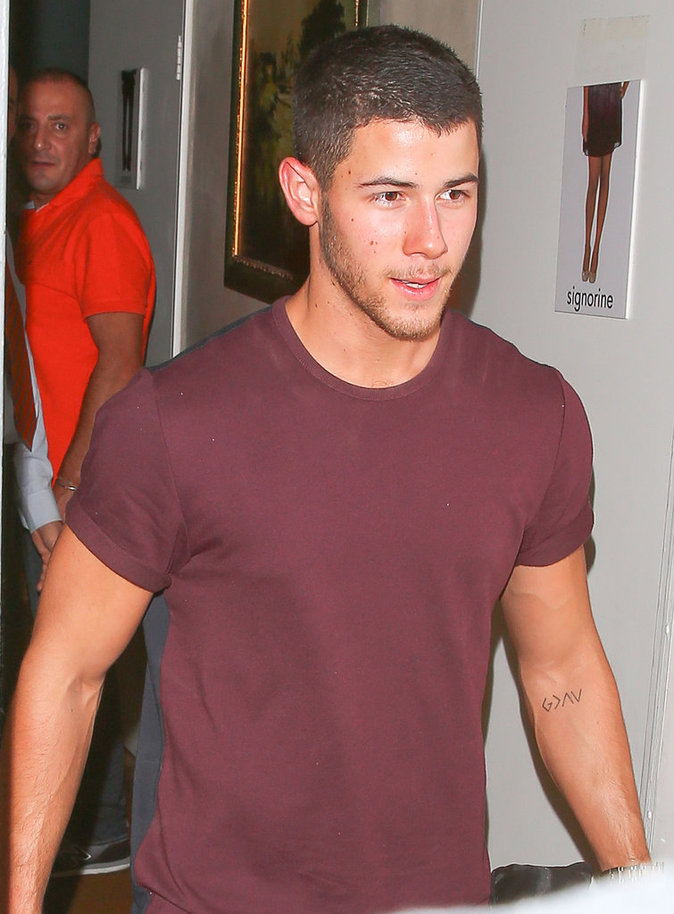 Nick Jonas à Los Angeles le 16 août 2016