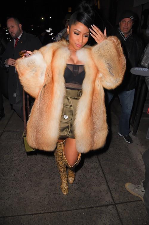 Photos : Nicki Minaj : animale pour Marc Jacobs !