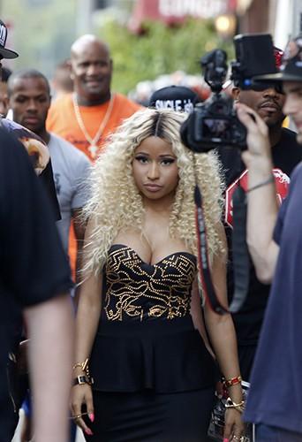 Nicki Minaj à Los Angeles le 2 août 2013