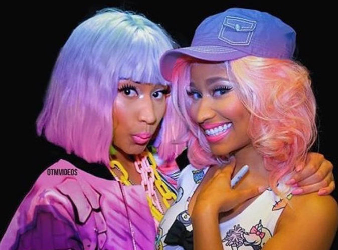 Nicki Minaj et son double!