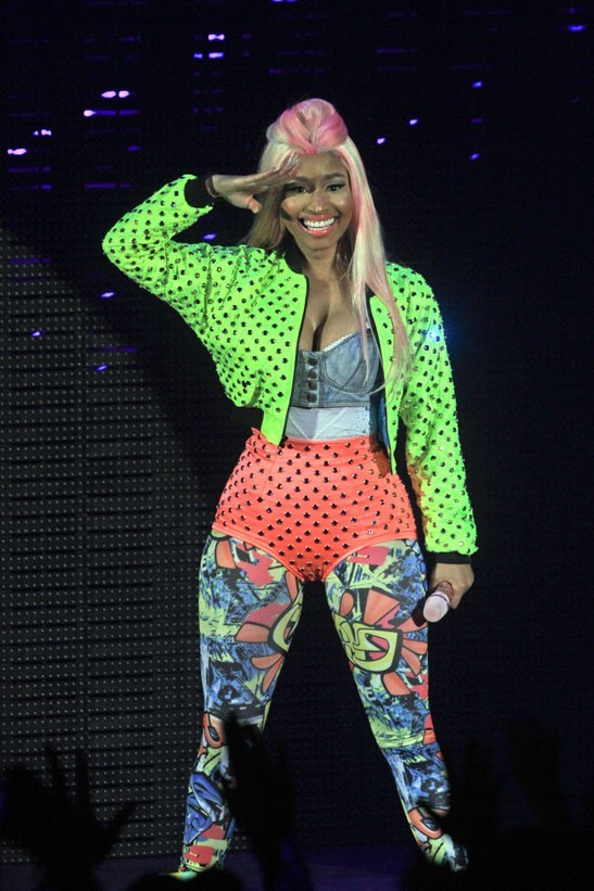 Nicki Minaj en concert à Londres le 24 juin 2012