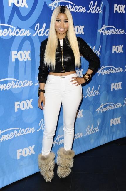 Nicki Minaj lors de la finale d'American Idol à Los Angeles, le 16 mai 2013.