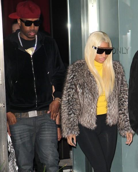 Nicki Minaj à Beverly Hills, le 15 janvier 2013.