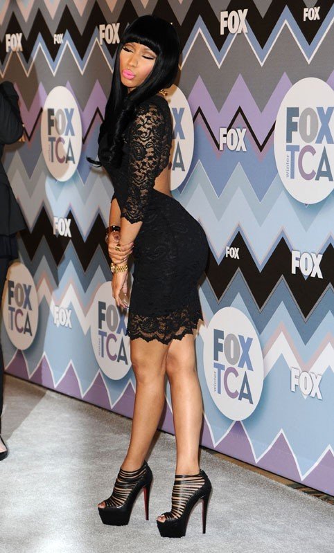 Nicki Minaj à la FOX Winter TCA All-Star Party à Pasadena le 8 janvier 2013