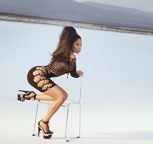 Photos : Nicki Minaj : shooting hot pour la (désormais) Barbie brune !