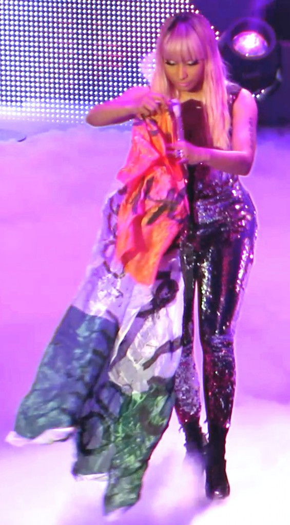 Photos : Nicki Minaj : Toutes fesses dehors à Dublin !