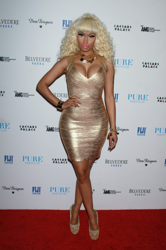 Nicki Minaj, Las Vegas, 31 décembre 2012.