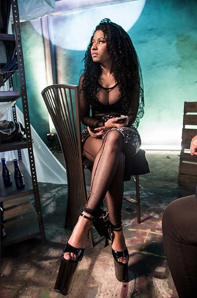 Nicki Minaj le 17 novembre 2014